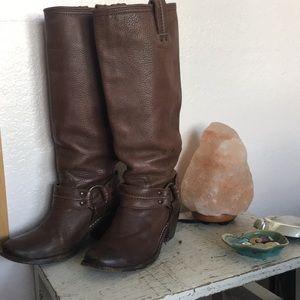 Frye Carmen Harness Tall Boot
